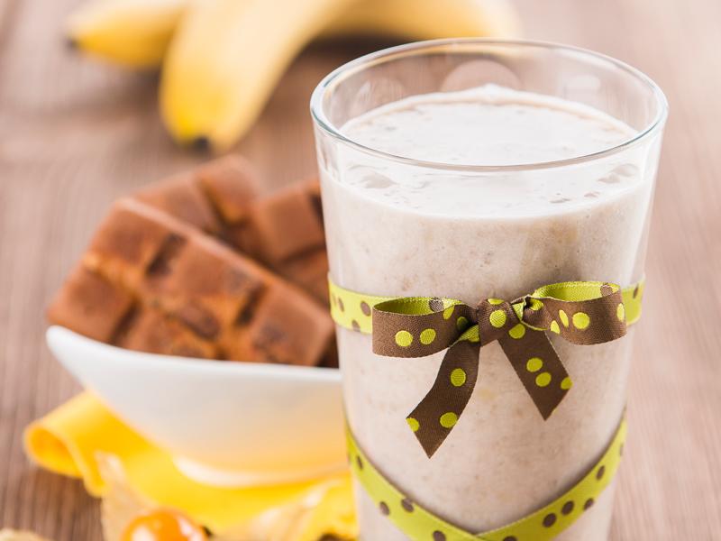 Banánový kokteil