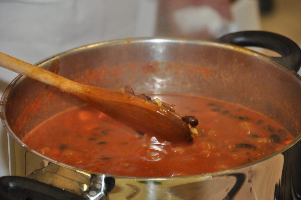 Fazuľová polievka s kakaom