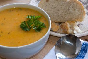 Kokosovo-mrkvová polievka