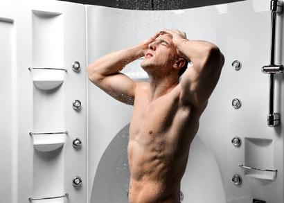 Male shower masturbation techniques