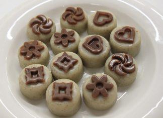 Bonbóny z bielej čokolády