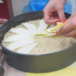 Hruškový koláč s quinoou
