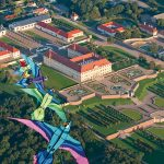 Šarkaniáda na zámku Schloss Hof