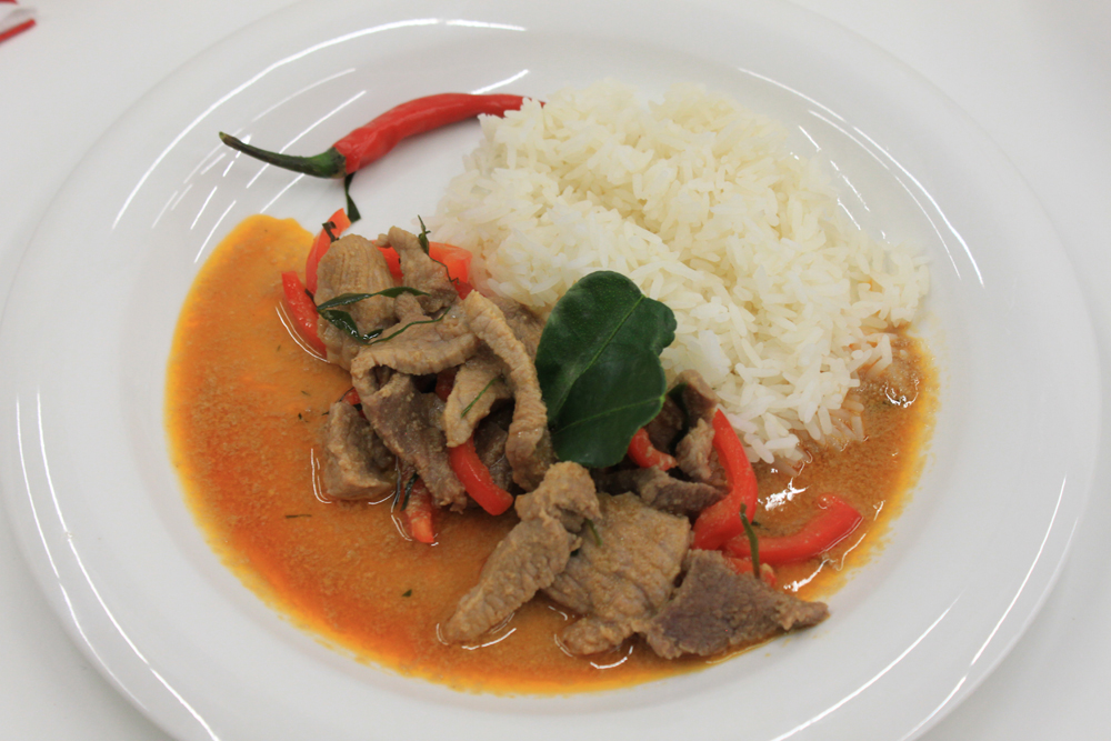 Paneang Moo Curry