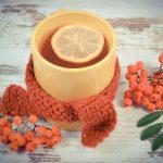 Jarabinkový čaj proti nachladnutiu