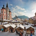 Mariazell a čertovský Sankt Sebastian
