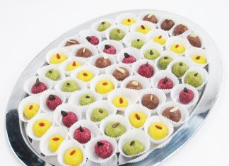 RAW - farebné jedlé gule
