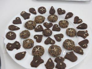 RAW - Zazvorové koláčiky