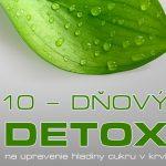 10-dňový detox – recepty pre zdravie