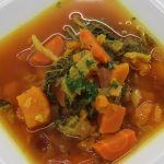 Cviklovo-batátová polievka
