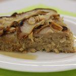Hruškový koláč s quinoa