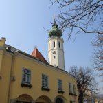 Farský kostol Sv.Kríža v Grinzingu