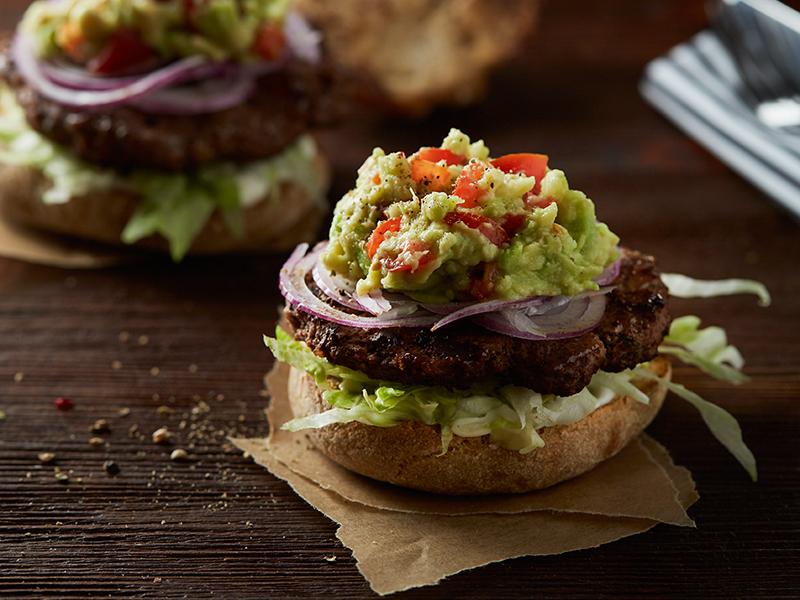 Burger s avokádom