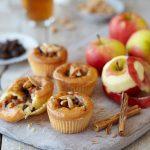 Jablkové cupcakes