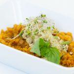 Červená šošovica na taliansky spôsob s quinoou