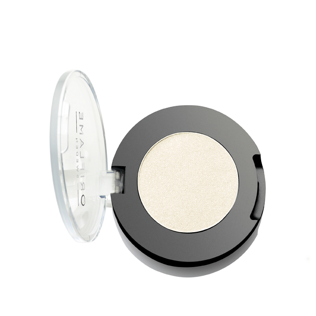 Mono očné tiene Pure Colour, odtieň Shimmering White