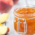 Broskyňová marmeláda