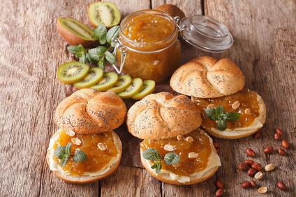 Kiwi-pomarančový džem