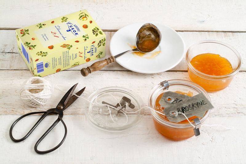 Broskyňovo-zázvorový džem