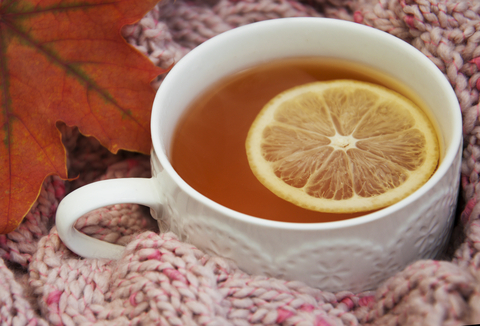 čaj s citrónom