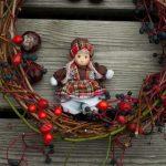 Čarovná jesenná dekorácia