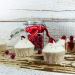 Vianočné brusnicovo-pomarančové cupcakes