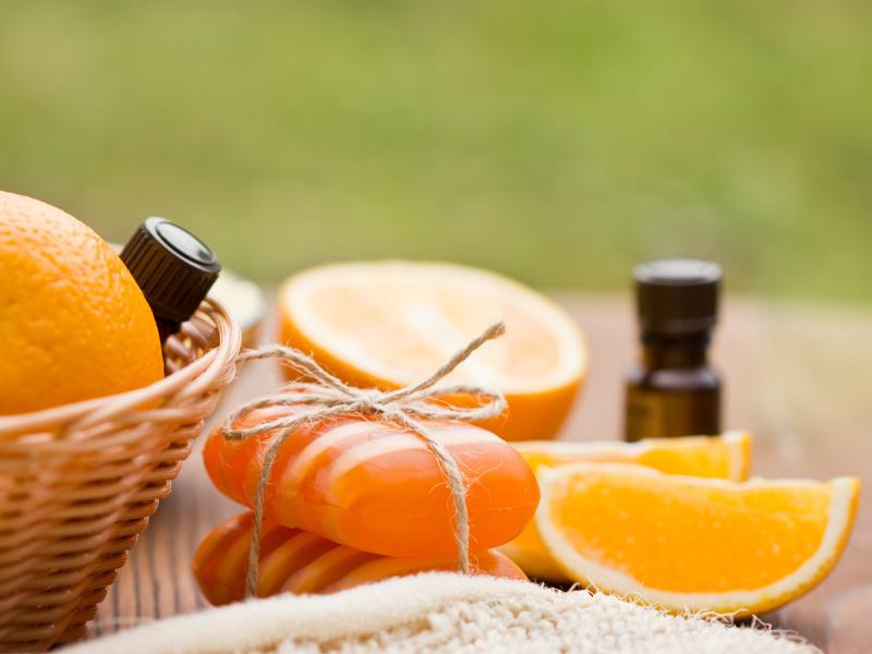 mandarínkové mydlo