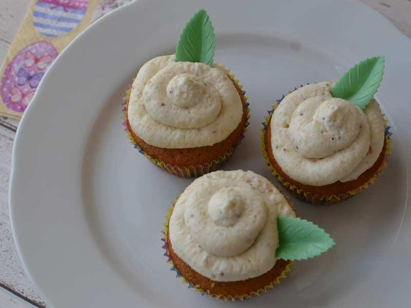 Cupcakes s medom