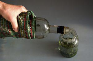 The wild garlic elixir