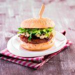 Burger s originálnym burger dipom