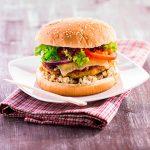 Morčací burger s jalapeno papričkou