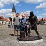 Novou atrakciou Bardejova je bronzová socha kata