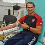 Olympionici pozývajú darovať krv