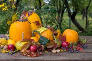 Pôsobivá jesenná dekorácia