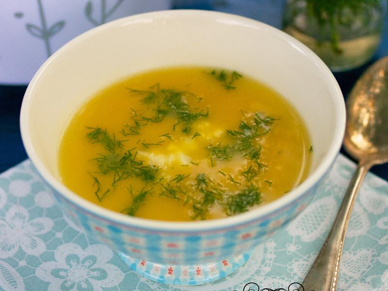Batátovo-šošovicová polievka