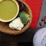 Karfiolovo-brokolicová polievka