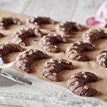 Čokoládové vianočné cookies