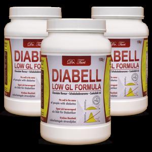 DIABELL - náhrada jedla pre diabetikov