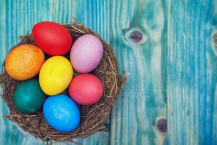 Vajíčka maľované