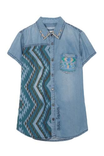 dzinsova bluzka