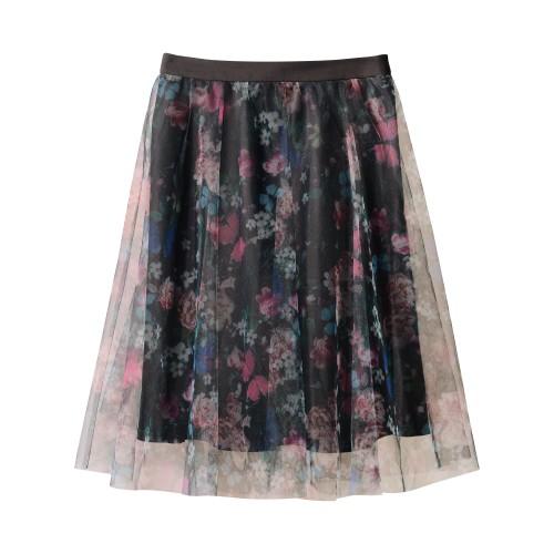 kvetinková letná sukňa