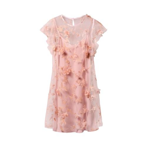 ružová letná blúzka