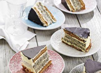 Francúzska maková torta
