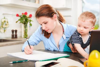 pracujúce mamičky