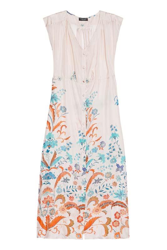 Dlhé šaty so vzorom Twin-Set