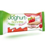 Joghurt Schnitte Raspberry