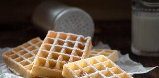 Tvarohové wafle