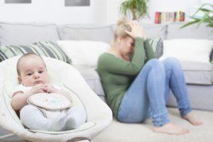 Popôrodná depresia