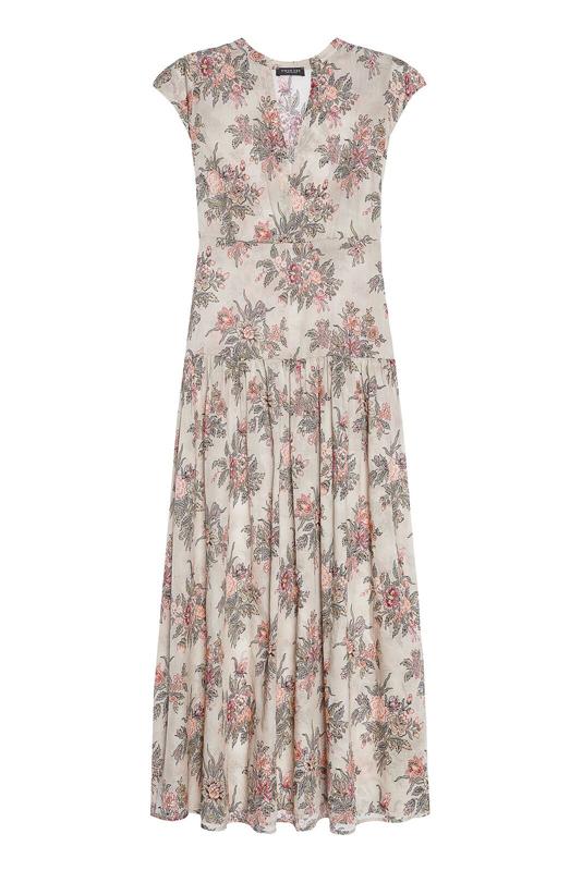 Maxi kvetované šaty Twin-Set