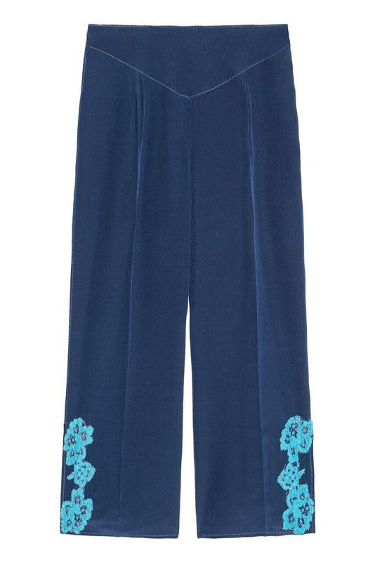 Nohavice s výšivkou Twin-Set